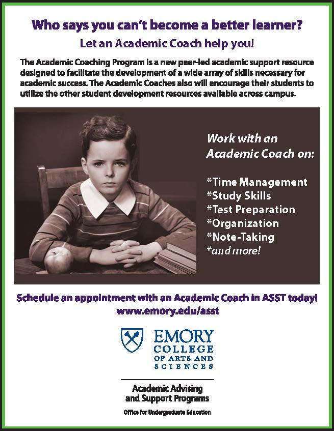 Academic Coaching In Action >> Academic Coaching Program Prehealth Mentoring Office